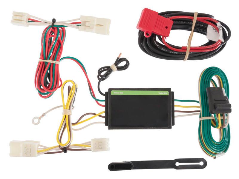 Rigid T-Connector Custom Wiring Harness, 4-Way Flat Output, Select Toyota RAV4