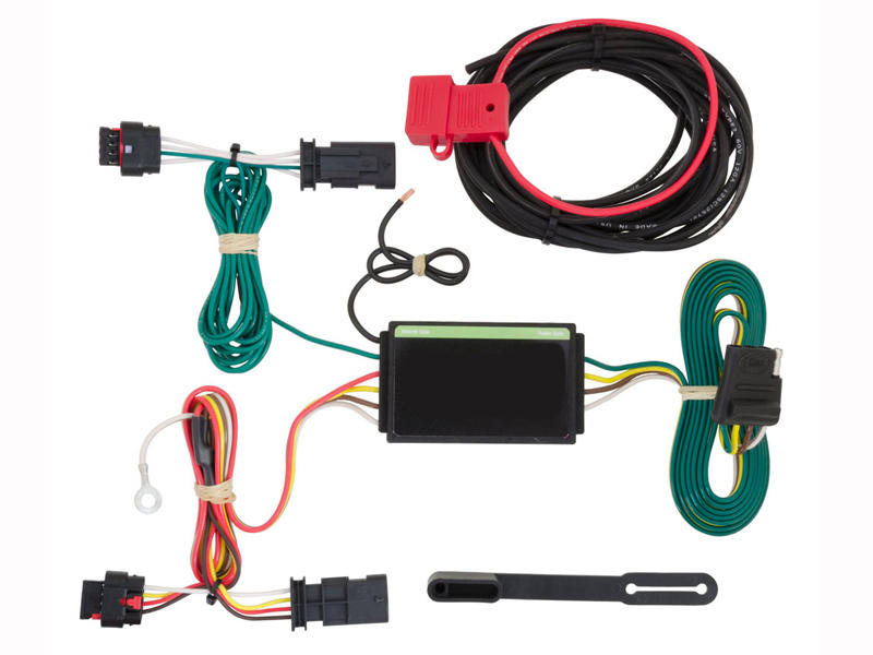 Rigid T-Connector with Powered Tail Light Converter