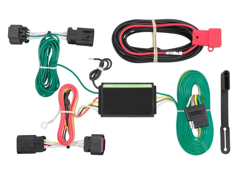Rigid T-Connector Custom Wiring Harness, 4-Way Flat Output, Select Ram ProMaster 1500, 2500, 3500