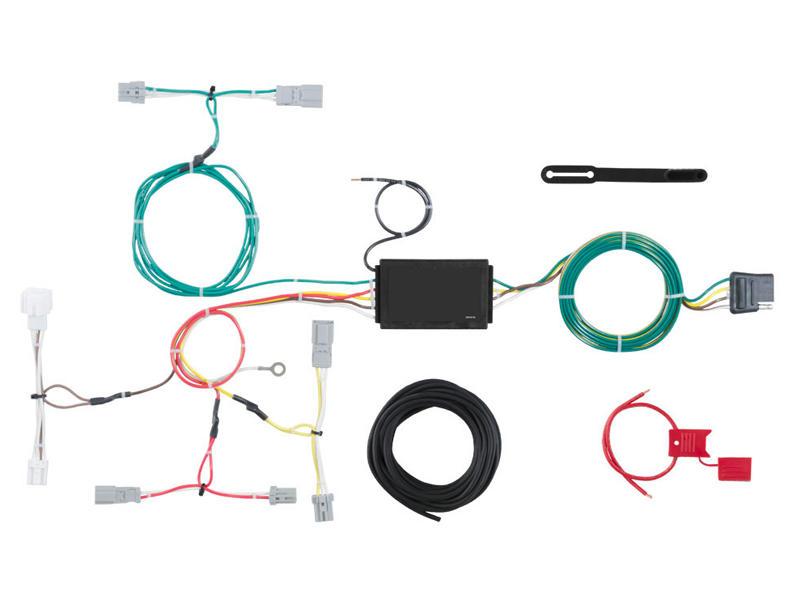 Rigid T-Connector Custom Wiring Harness, 4-Way Flat Output, Select Honda Accord Sedan
