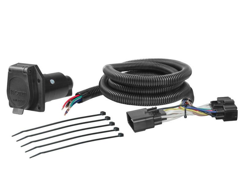 Rigid T-Connector with 7-way Plug