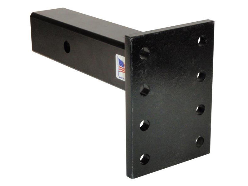 2-1/2 inch Hollow Shank Pintle Hook Mounting Plate