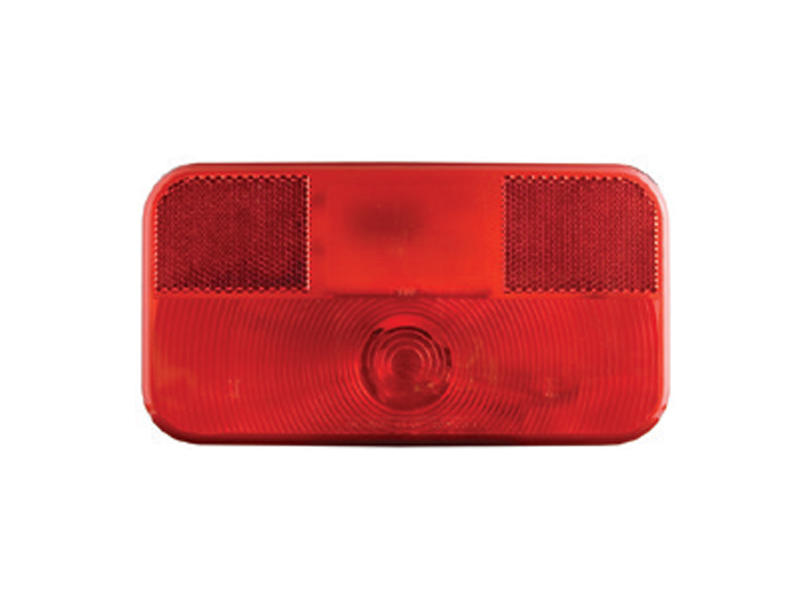 RV Combination Stop/Turn/Tail Light with White Base