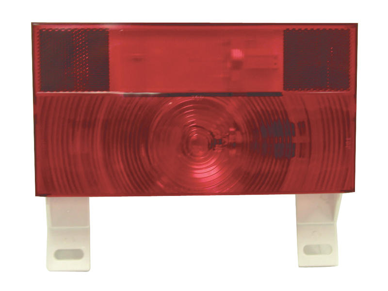 Peterson RV Stop/Turn/Tail Light with License Plate Bracket