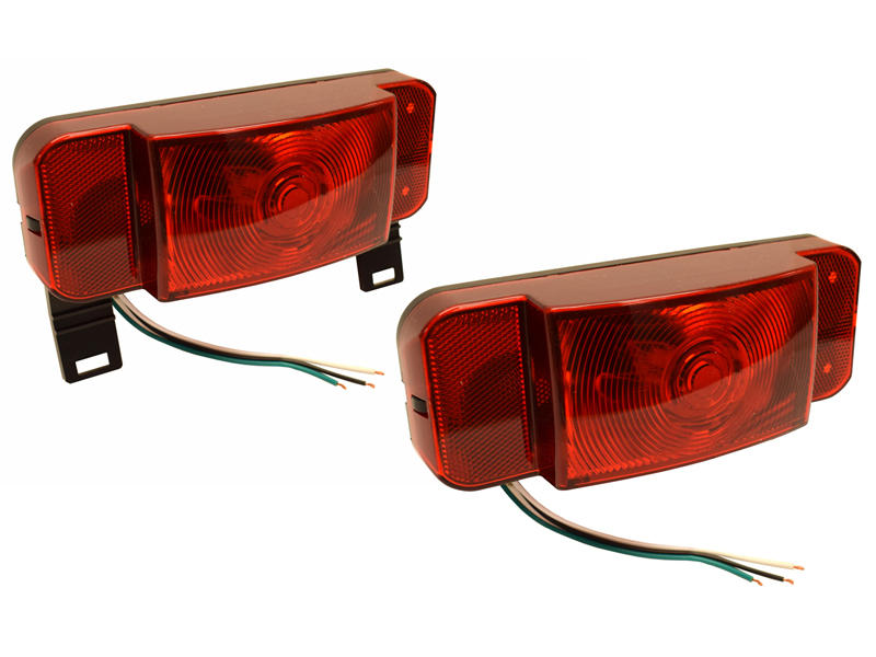 Optronics One™ L E D  Low Profile Combination RV Tail Lights - Pair