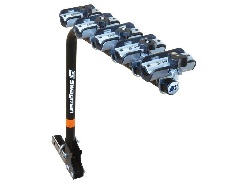 XP: Hitch Mount 5-Bike Fold Down Rack
