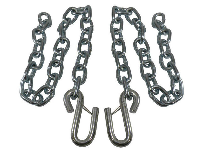 Safety Chains with Wire Latches