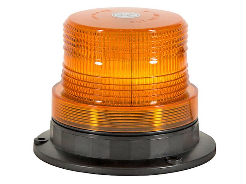L.E.D. Flashing Amber Beacon- Permanent/Magnetic Mount