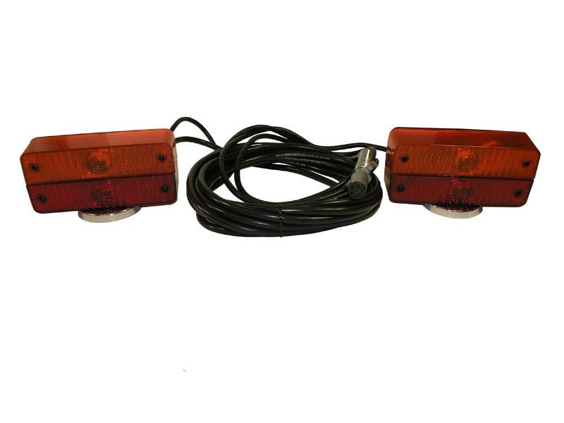 Split Lens Rectangular Tow Lights