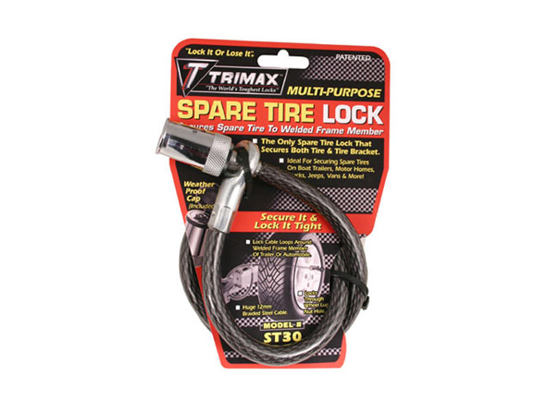 Spare Tire Cable Lock