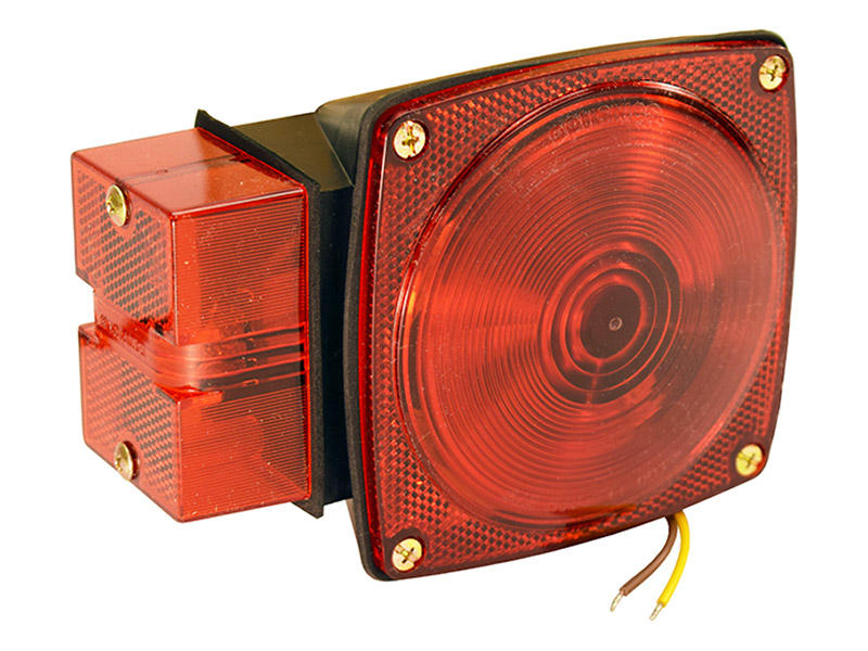 "Square ""Over 80"" Submersible Trailer Tail Light- Left"