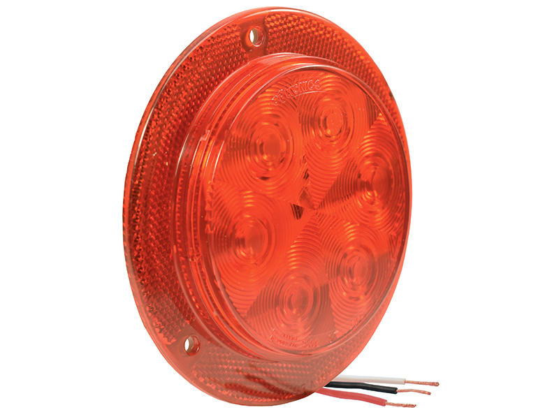 Optronics Stl13rfhxb 4 U0026quot  Round Led Sealed Stop  Turn  Tail