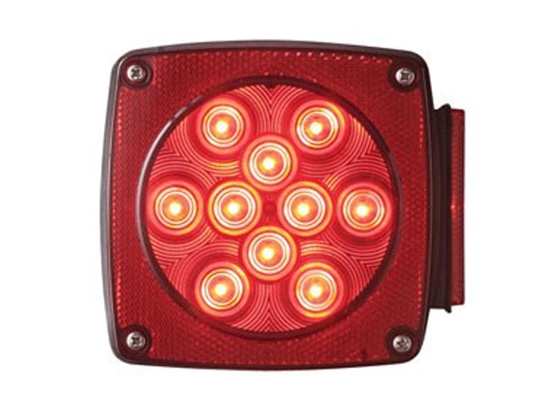 "Square ""Under 80"" Combination LED Tail Light- Right"