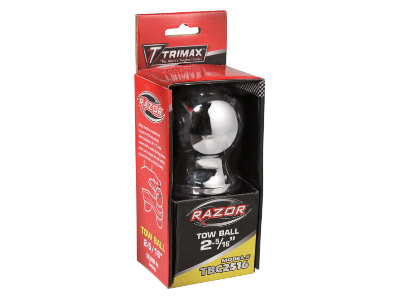 "Trimax 2-5/16"" Chrome Hitch Ball"