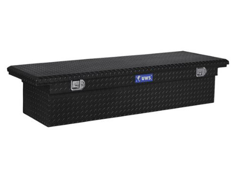 69 Inch Single Lid Low Profile Tool Box - Paddle Lift Lock - Black