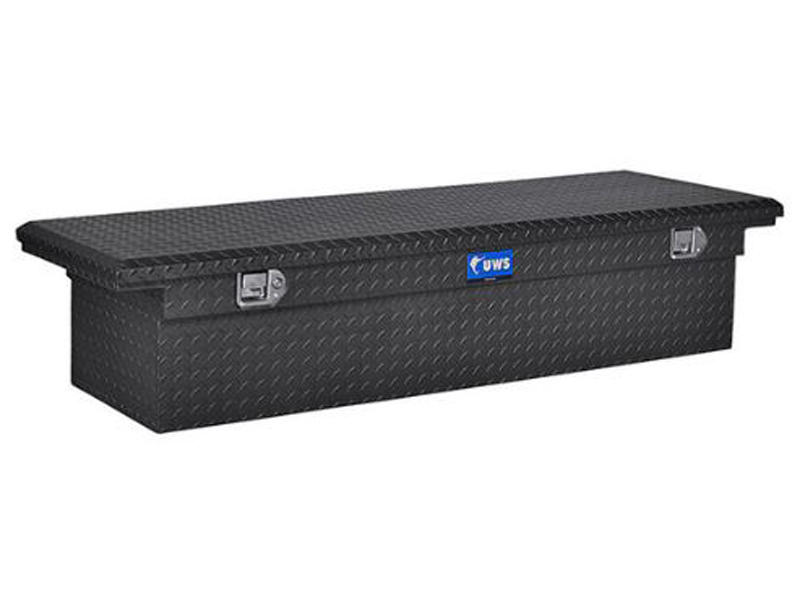 69 Inch Single Lid Low Profile Tool Box - Paddle Lift Lock - Matte Black