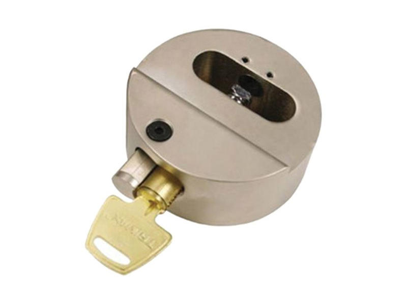 Hockey Puck Hasp Lock