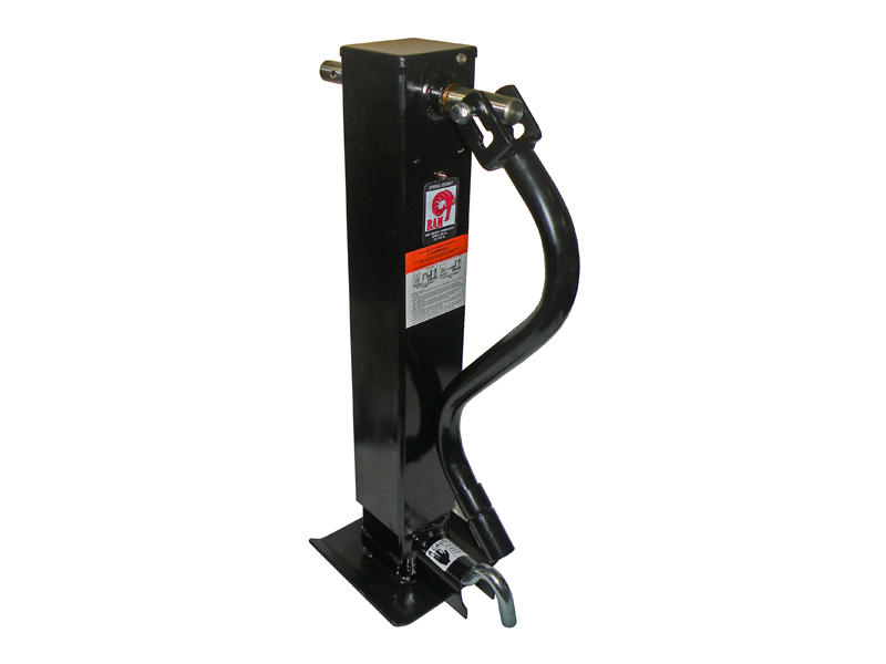 Heavy Duty Square Tube Drop Leg Jack
