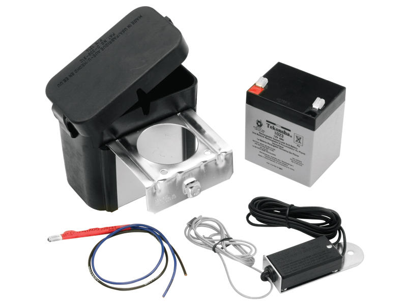 Breakaway Kit for Trailers with Electric Brakes includes Battery Charger