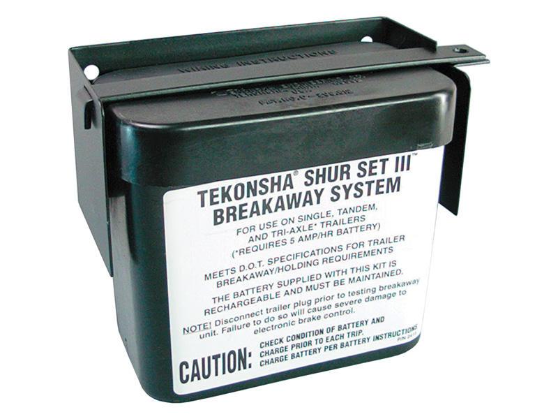 Lockable Battery Case for Tekonsha Shur-Set III™