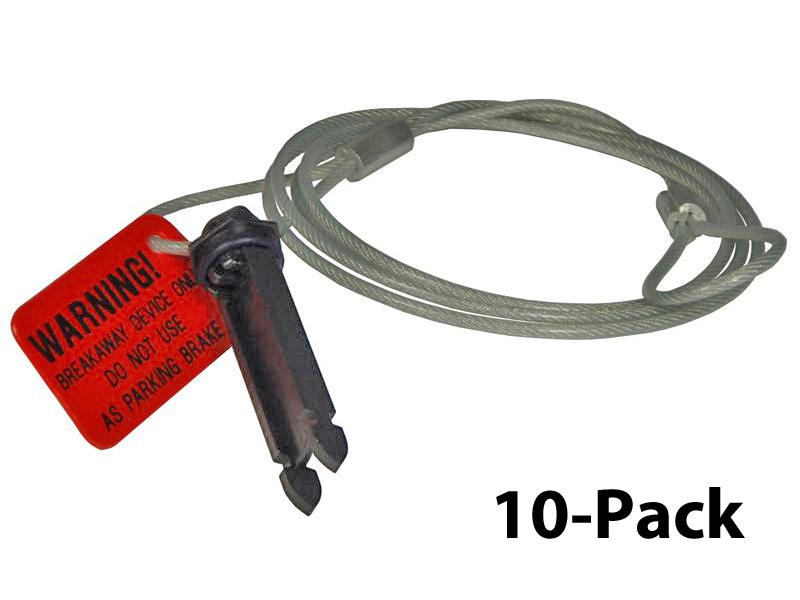 Replacement Cable and Pin - 10-Pack