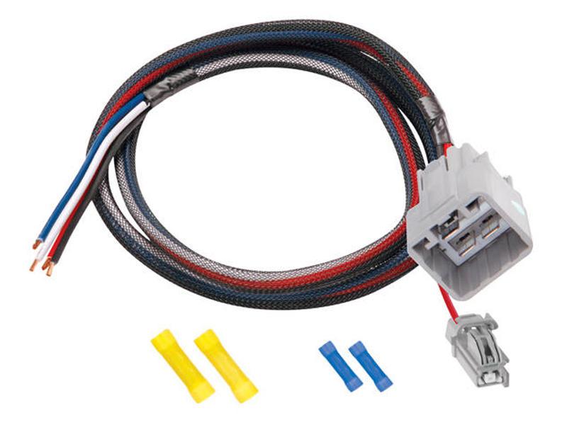 tekonsha tk 3023 s custom fit wiring harness for tekonsha and draw electric trailer brake breakaway wiring custom fit wiring harness for tekonsha and draw tite brake controls