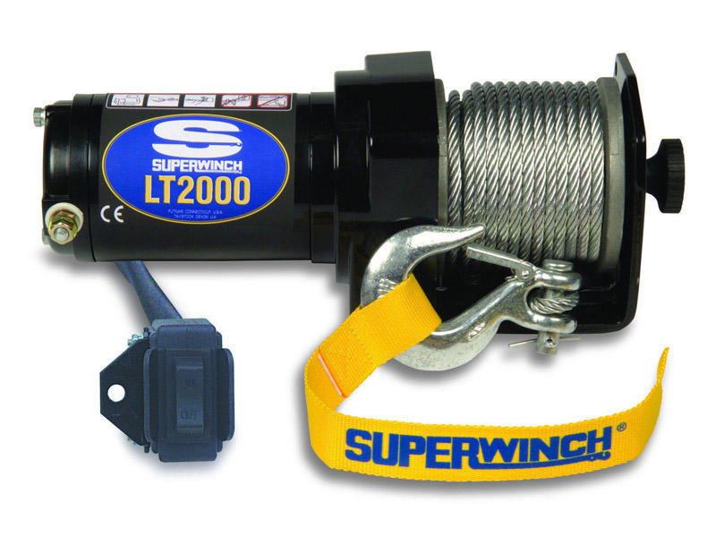 Superwinch LT2000 ATV Winch 1120210 *FREE SHIPPING* New in Box