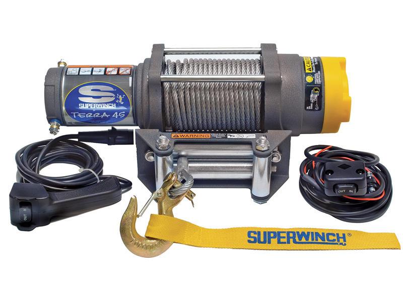 Superwinch- Terra Series Winch For ATV/UTV/Side-By-Side. Model Terra45