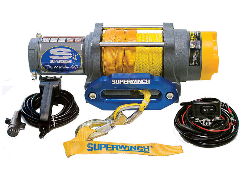 Superwinch- Terra Series Winch For ATV/UTV/Side-By-Side. Model Terra45SR