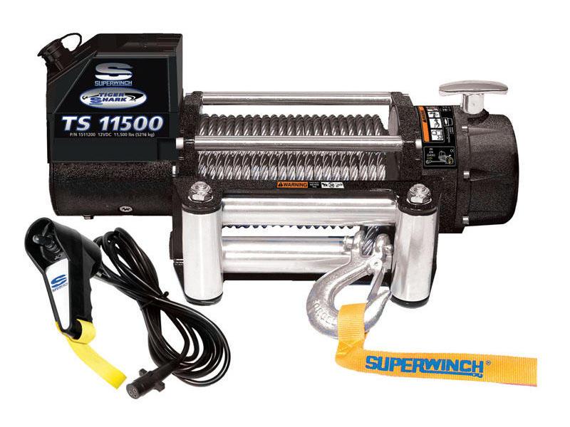 Superwinch- Tiger Shark Series Winch - Model TS11500