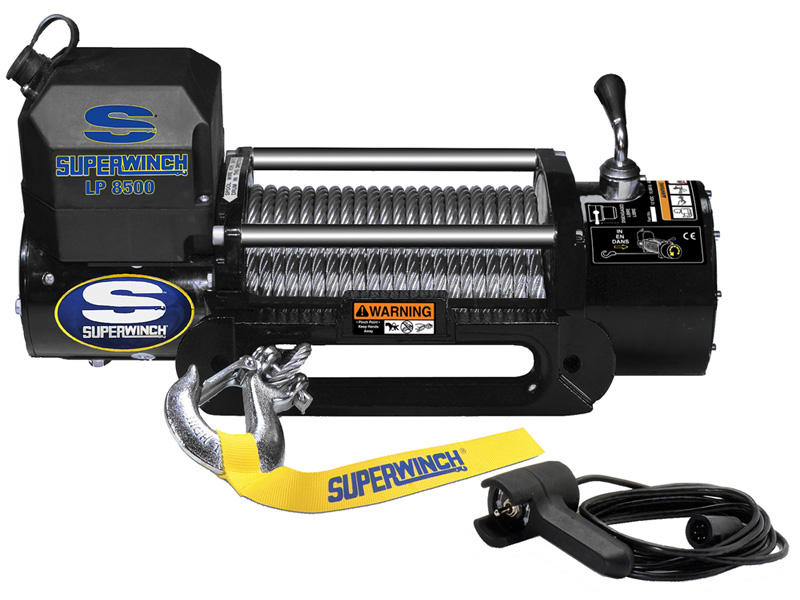Superwinch LP Series Winch- Model LP8500 - 2nd Generation