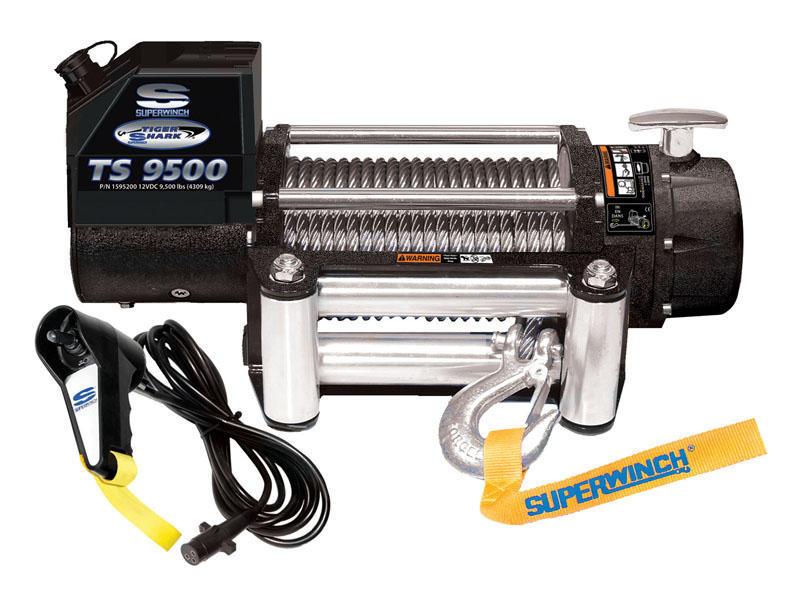 Superwinch- Tiger Shark Series Winch - Model TS9500