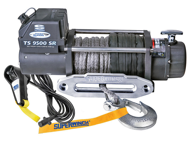 Superwinch Tiger Shark Series Winch - Model TS9500SR