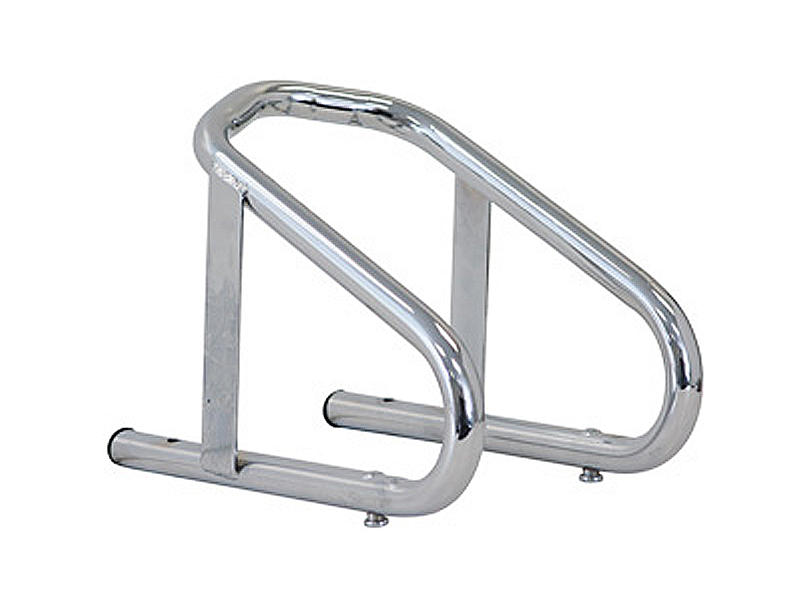 Motorcycle Wheel Chock - Chrome