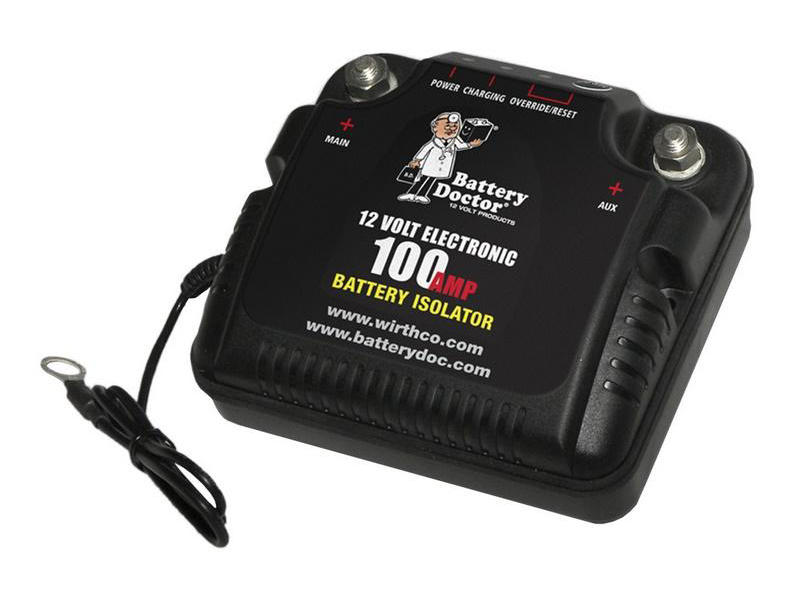 Dual Battery Isolator - 100 Amp