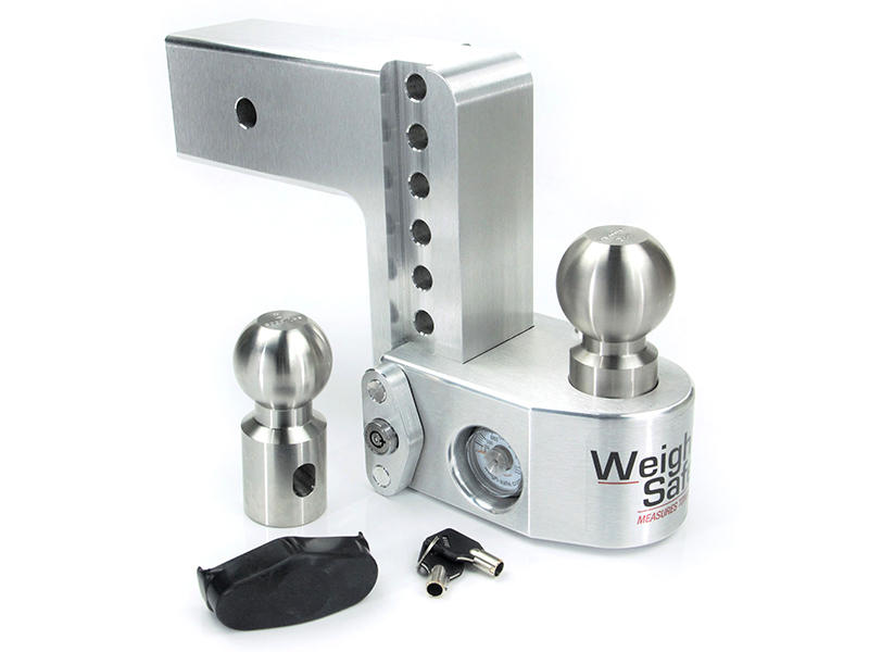 Weigh Safe Drop Hitch For Ford With 3 Inch Receivers