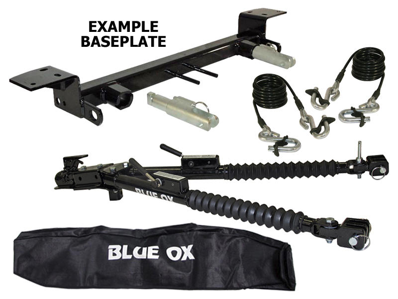 blue ox tow bar parts